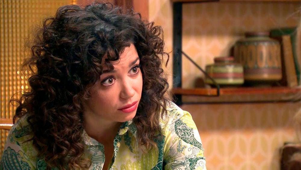 Amelia tranquiliza a Luisita tras romper la relación con su padre