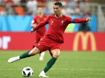 Cristiano, con Portugal