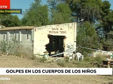Imagen de la casa okupada por la familia de Godella