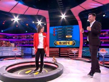 Silvia va a por los 100.000 euros de '¡Ahora Caigo!'