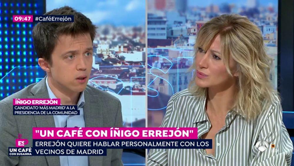 """Iñigo Errejón: """"Dedico una hora todos los días a hablar con los madrileños"""""""