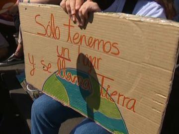 El calentamiento global moviliza a los jóvenes canarios