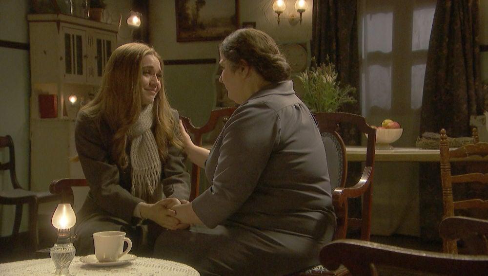 El emotivo y esperado encuentro de Julieta con su abuela