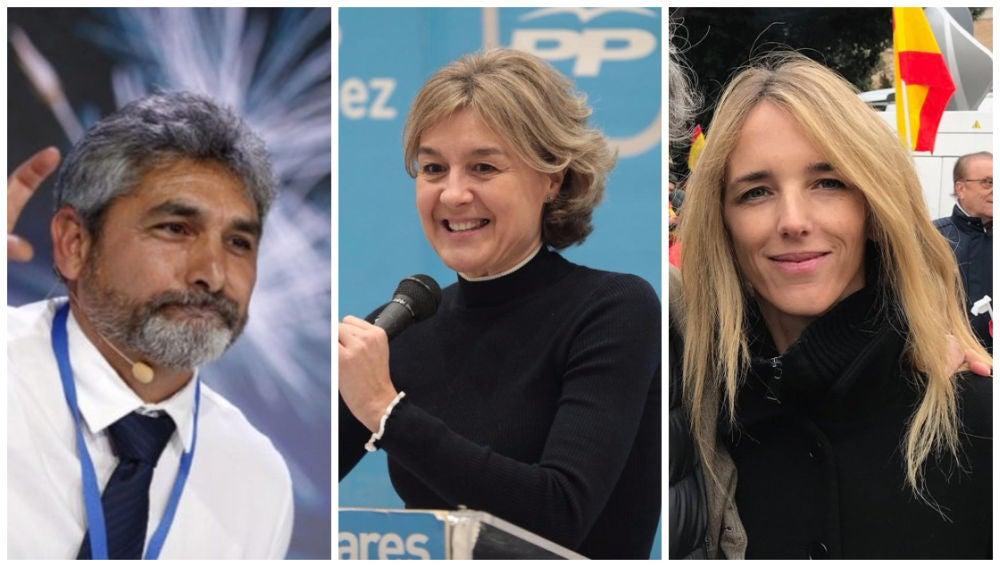 Candidatos del PP a las elecciones del 28A