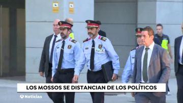Los Mossos se distancian de los políticos catalanes en el Juicio del 'Procés'