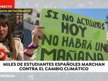 REEMPLAZO Los estudiantes se manifiestan en todo el mundo contra el cambio climático