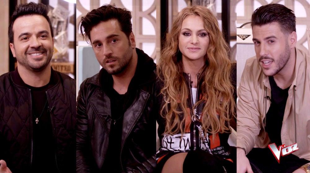Paulina Rubio, Antonio José, Luis Fonsi y David Bustamante se enfrentar al test de los duetos más famosos