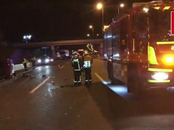 Fallece un hombre tras un accidente de tráfico en Alcalá de Henares