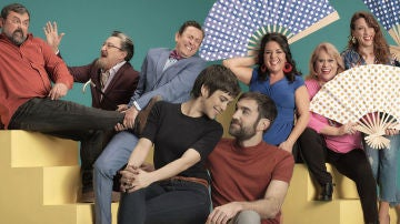 Los protagonistas de la quinta temporada de 'Allí abajo'