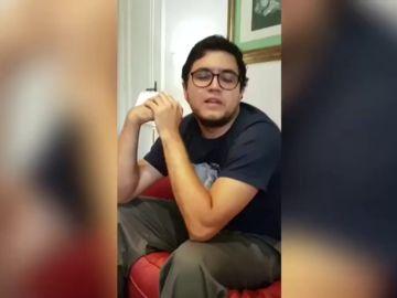 """El mensaje de agradecimiento del periodista español Luis Carlos Díaz: """"Gracias por no dejarme solo"""""""
