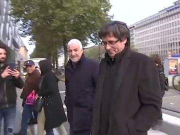 Puigdemont coloca a su amigo Matamala de número uno al Senado