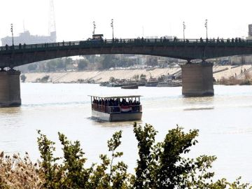 Imagen de archivo del río Tigris