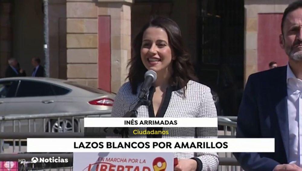 La oposición responsabiliza a Sánchez de la situación de los lazos en Cataluña