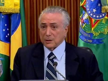 Detenido el expresidente brasileño Michel Temer por el caso 'Lava Jato'