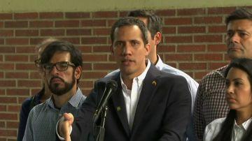 """Guaido: """"Maduro no se atreve a detenerme"""""""