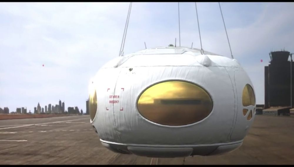 Así es el globo español que viajará al espacio