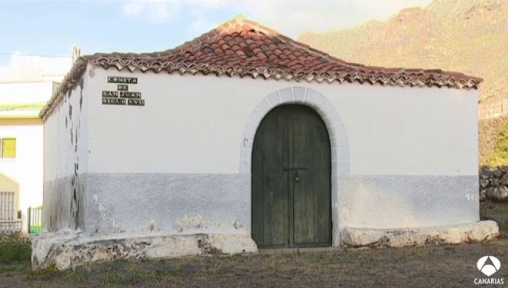 Los vecinos de Bajamar piden que se arregle la ermita