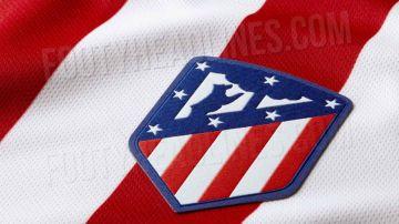 El diseño de la nueva camiseta del Atlético de Madrid
