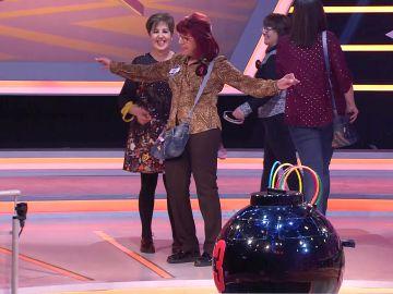 'Las Churras', un equipo de concursantes 'modelos' en '¡Boom!' con un sensacional desfile de bolsos
