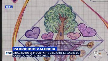 El dibujo de la parricida de Valencia.