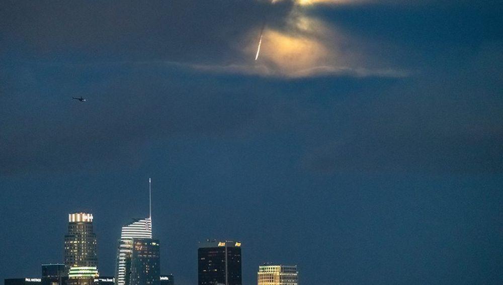'Meteorito' sobre Los Ángeles