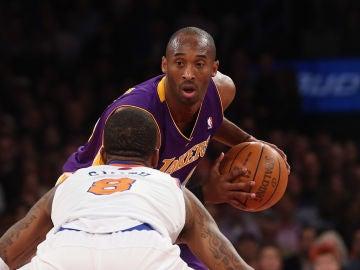 Kobe Bryant en un partido en el Madison