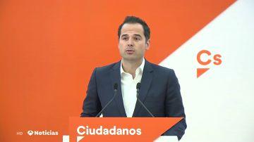 Ciudadanos reitera queno pactará con el PSOE después de las elecciones