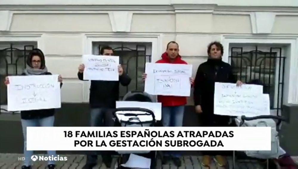 REEMPLAZO Un total de 18 familias quedan atrapadas en Ucrania y Georgia por la gestación subrogada