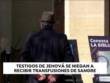Una joven testigo de Jehová, en estado grave al rechazar una transfusión de sangre