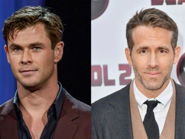 Chris Hemsworth y Ryan Reynolds