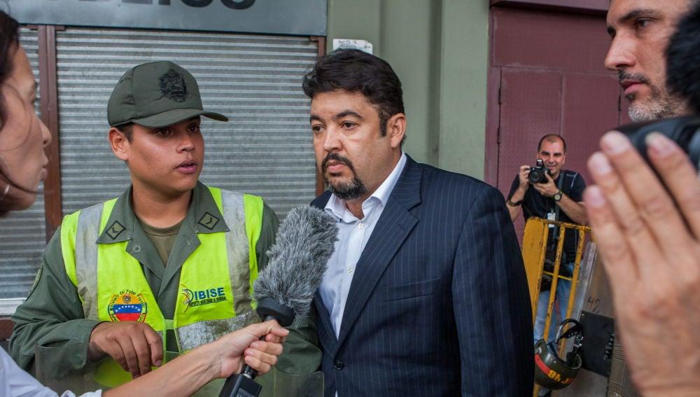 Imagen de Roberto Marrero, jefe de despacho de Juan Guaidó