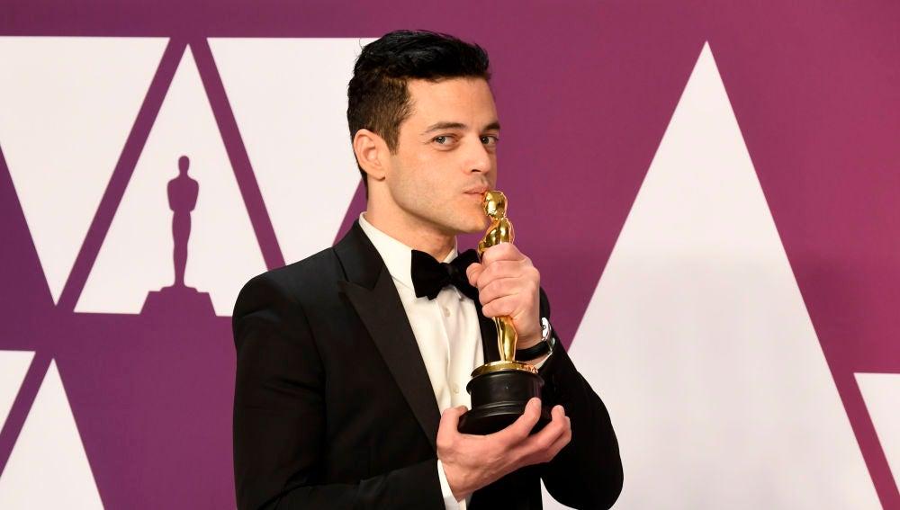 Rami Malek, tras ganar el Oscar por 'Bohemian Rhapsody'