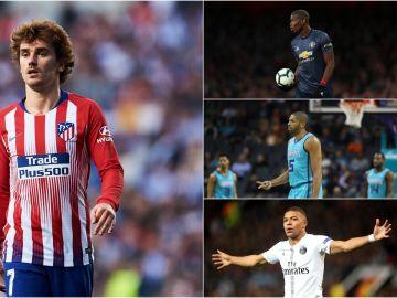 Los deportistas franceses mejor pagados de 2018