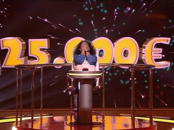 Pikachu le da 25.000 euros a Nuria en 'Juego de juegos'