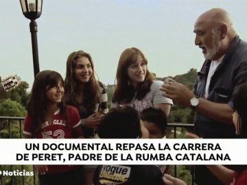 'Peret, yo soy la rumba', el documental que narra la vida del creador de la rumba catalana