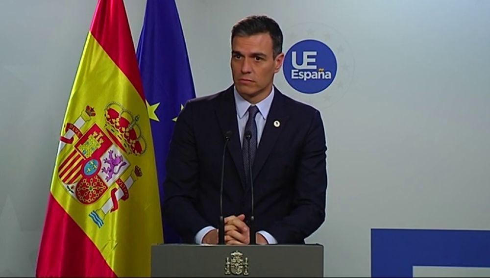 """Pedro Sánchez: """"los líderes independentistas no garantizan la neutralidad de las instituciones"""""""