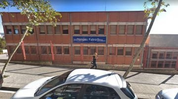 Fachada del Instituto Pompeu Fabra