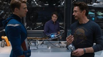 Chris Evans, Robert Downey Jr. y Mark Ruffalo