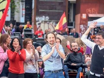 """Noticias fin de semana (23-03-2019) Pablo Iglesias vuelve a la primera línea de la política: """"Nadie ha votado a quienes toman las principales decisiones de este país"""""""