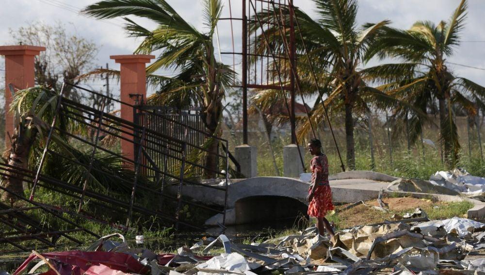 El ciclón Idai arrasa Mozambique