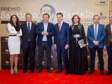 Matías Prats recoge el IV Premio Santiago Castelo
