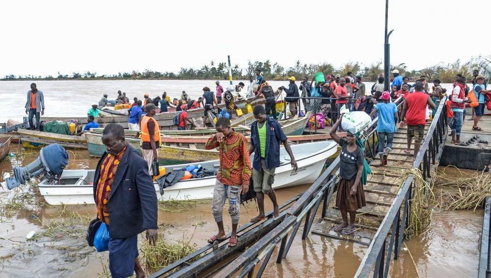 El ciclón Idai arrasa el sur de África