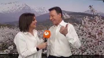 Matías Prats le confiesa a Mónica Carrillo qué se siente al ser uno de los periodistas más galardonados