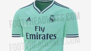 La posible tercera equipación del Real Madrid para la próxima temporada
