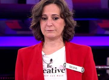 Silvia, concursante de '¡Ahora Caigo!'