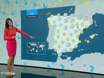 Bajan las temperaturas en el norte y en Canarias, islas donde también lloverá