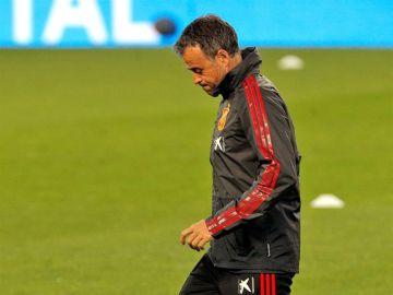 El seleccionador español, Luis Enrique