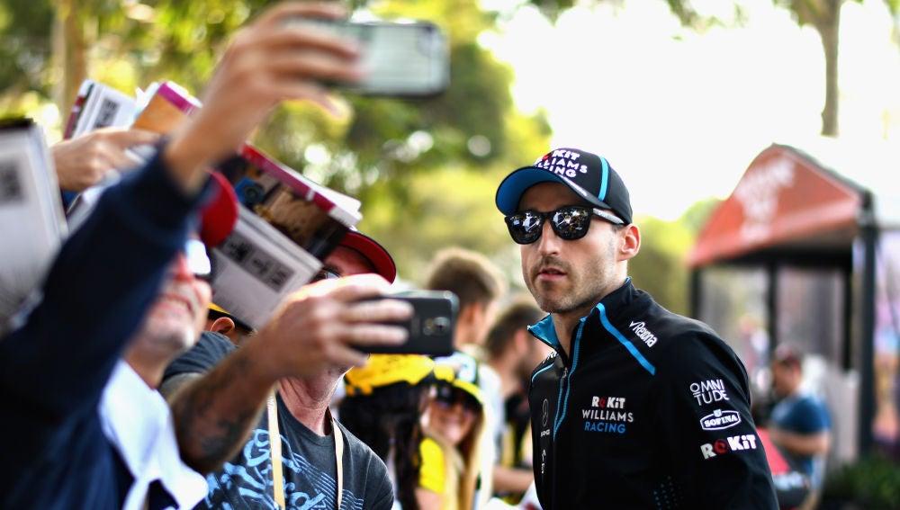 Robert Kubica, piloto de Williams