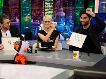 Trancas y Barrancas desatan las risas de Pablo Motos, Amaia Salamanca y Javier Rey con 'El plecio justo'