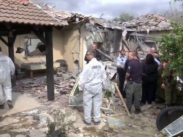 Un cohete lanzado desde Gaza deja siete heridos al impactar en una casa en Israel